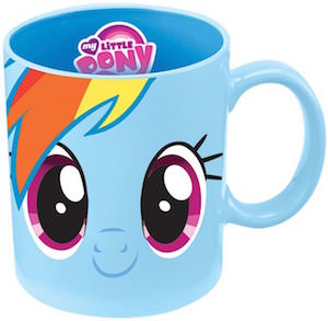MLP Rainbow Dash Ceramic Mug