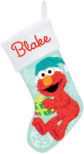 Sesame Street Elmo Christmas Stocking