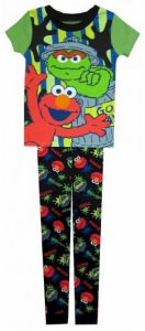 Sesame Street Toddler 2 Piece Pajamas