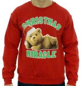 Ted Christmas Miracle Ugly Sweater