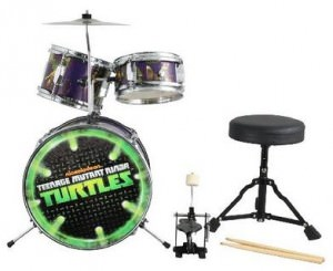 Teenage Mutant Ninja Turtles Junior Drum Set