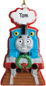 Thomas The Train Personalized Christmas Ornament