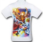 Thor And Loki 75th Aniversary T-Shirt