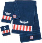 Captain America Winter Soldier Towel Set