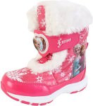 Disney Frozen Anna And Elsa Pink Winter Boots