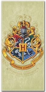 Harry Potter Hogwarts logo Beach Towel