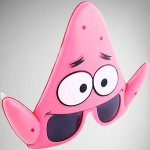 Spongebob Sunglasses Shaped Like Patrick