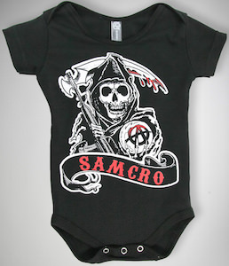 Sons Of Anarchy baby bodysuit