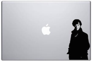 Sherlock Benedict Cumberbatch Laptop Decal
