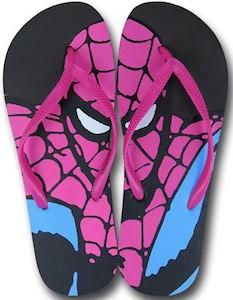 Spider-Man Flip Flops