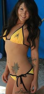 Star Trek Command Bikini Set