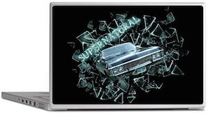 Supernatural 1967 Chevrolet Impala Laptop Decal