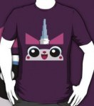 The LEGO Movie Unikitty Face T-Shirt