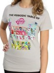 The Periodic Table Of Ponies T-Shirt