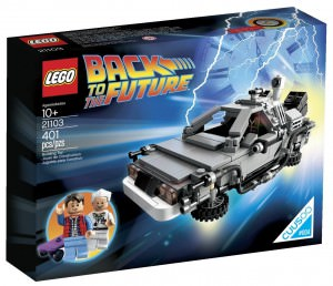 Back To The Future LEGO DeLorean