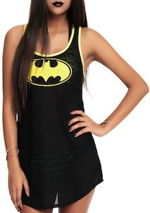 Batman Swim Cover Tank Top