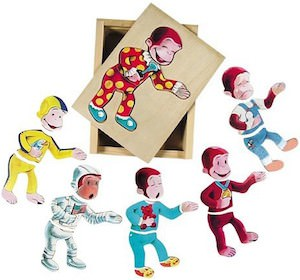 Curious George Mood Jigsaw Puzzle