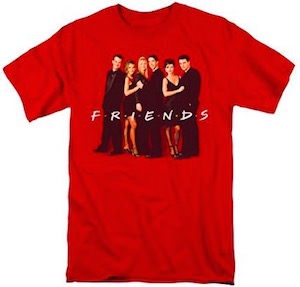 Friends Red Cast T-Shirt