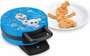 Frozen waffle maker for olaf waffles