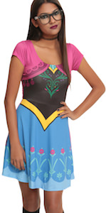 Princess Anna Adult Size Costume Dress