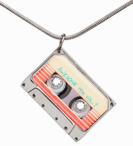 Guardians of the Galaxy Mix Tape Pendant Necklace
