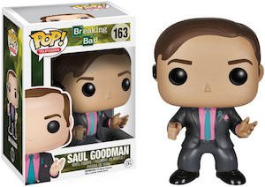 Funko Breaking Bad Saul Good Pop! Vinyl Figurine