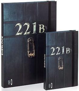 Sherlock 221B Baker Street Notebooks