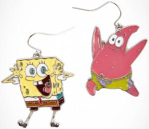 SpongeBob And Patrick Earrings
