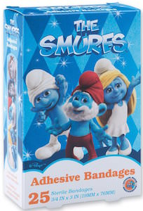 The Smurfs Adhesive Bandages