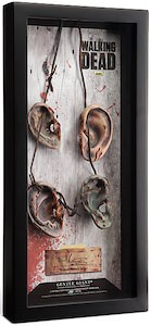 The Walking Dead Daryl Dixon Walker Ears Necklace Display