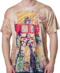 Transformers Optimus Prime Comic T-Shirt