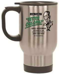 Batter Call Saul Stainless Steel Travel Mug