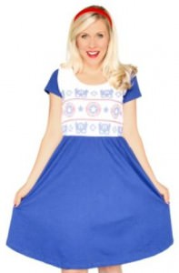 Captain America Knitted Dress