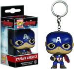 Avengers Captain America Pocket Pop! Keychain