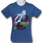 Composite Avengers Logo T-Shirt