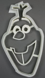 Snowman Olaf Cookie Cutter