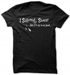 Harry Potter I Solemnly Swear T-Shirt