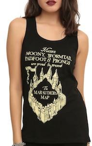 Harry Potter Marauder's Map Women's Tank Top