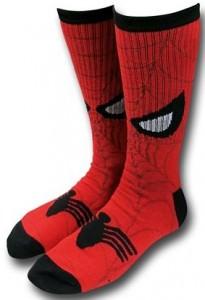 Spider-Man Eyes Crew Socks