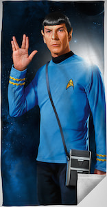 Spock Beach Towel