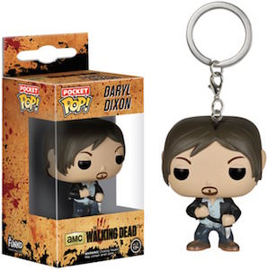 The Walking Dead Daryl Dixon Pocket Pop! Key Chain