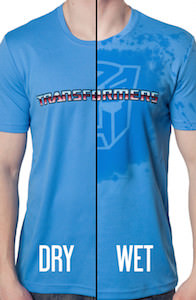 Transformers Autobot Wet Tech T-Shirt
