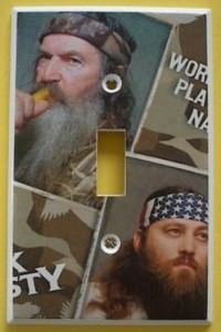 Willie And Phil Duck Dynasty Light Switch Cover