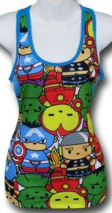 Avengers Mini Superheroes Tank top