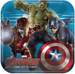 Avengers Age Of Ultron Paper Plates
