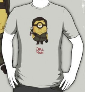 Daryl Dixon Minion T-Shirt