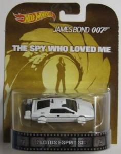 Die Cast Hot Wheels James Bond Lotus