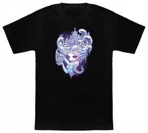 Elsa Winter Princess T-Shirt