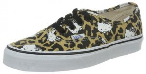 Hello Kitty Leopard Print Vans Unisex Sneakers