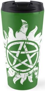 Supernatural Anti Possession Travel Mug